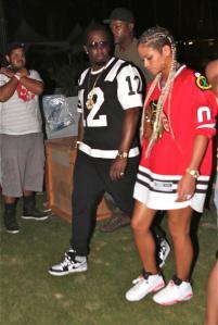 Coachella 14 Diddy & Cassie