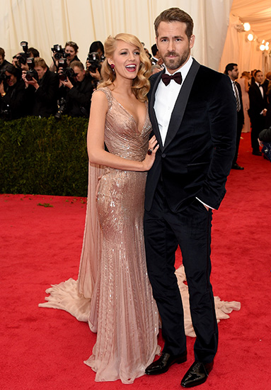 MET Gala Blake Lively & Ryan Reynolds