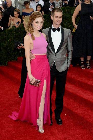 MET Gala Emma Stone & Andrew Garfield
