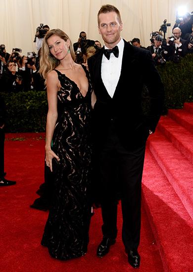 MET Gala Gisele Bundchen & Tom Brady