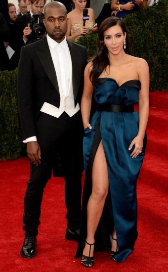 MET Gala Kim Kardashian & Kanye West