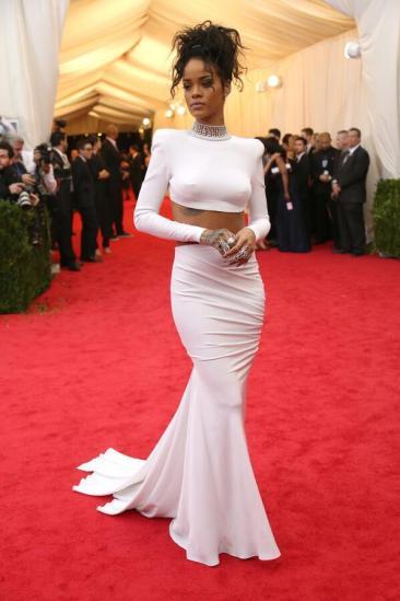 MET Gala Rihanna